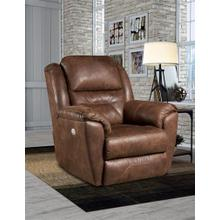 Power Leather Wall Saver Recliner with Power Headrest *Special Pricing-Maximus Leathers Only*