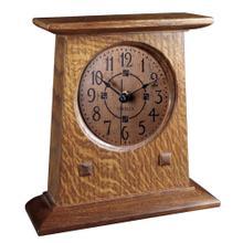 See Details - Oak Bracket Clock