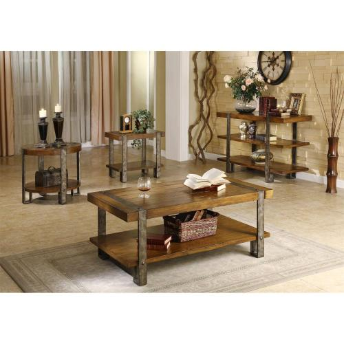 Riverside - Sierra - Coffee Table - Landmark Worn Oak Finish