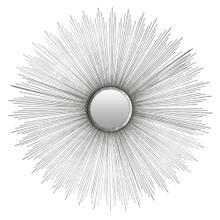 Sun Burst Mirror - Silver