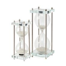 Kensington Crystal Hourglasses 2 Min and 5 Min - Set of 2