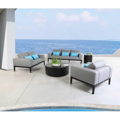 """Ibiza 37"""" Square Coffee Table"""