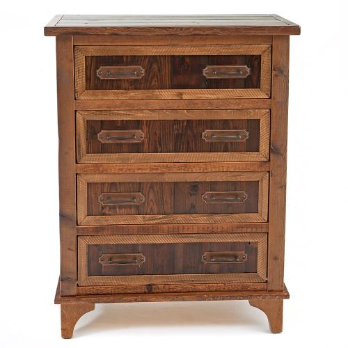 Pagosa Springs - 4 Drawer Upright Dresser