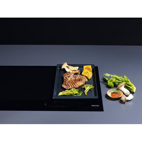 Miele - GGRP - Gourmet griddle plate For a unique grill experience on Miele induction cooktops