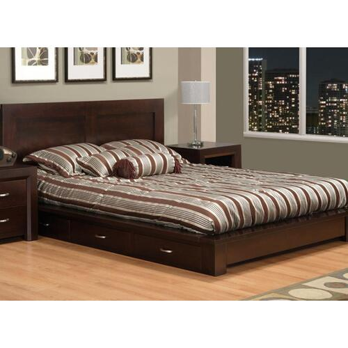 Handstone - Contempo King Platform Bed (With Euro Slat System)