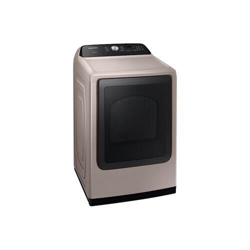 7.4 cu. ft. Electric Dryer with Sensor Dry in Champagne