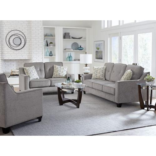 Marco Upholstered Sofa, Cement