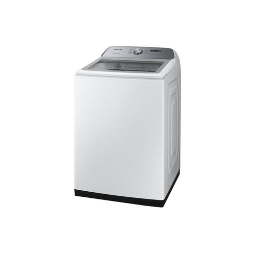 5.0 cu. ft. Top Load Washer with Active WaterJet in White