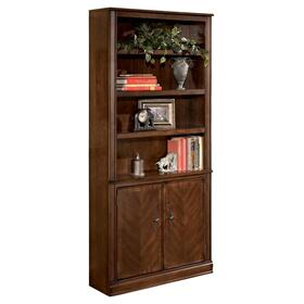 Hamlyn Large Door Bookcase Medium Brown