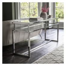 GA Salerno Console Table Silver