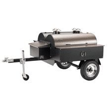 See Details - Double Commercial Pellet Grill Trailer