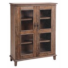 Bookcase /display Cabinet 2dr Reclaimed
