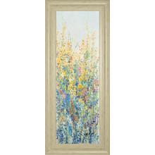 """Wildflower Panel III"" By Tim Otoole Framed Print Wall Art"