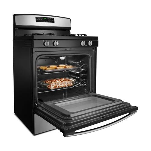 Amana Canada - 30-inch Gas Range with Self-Clean Option