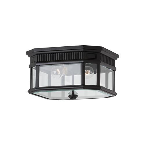 Cotswold Lane Flush Mount Black