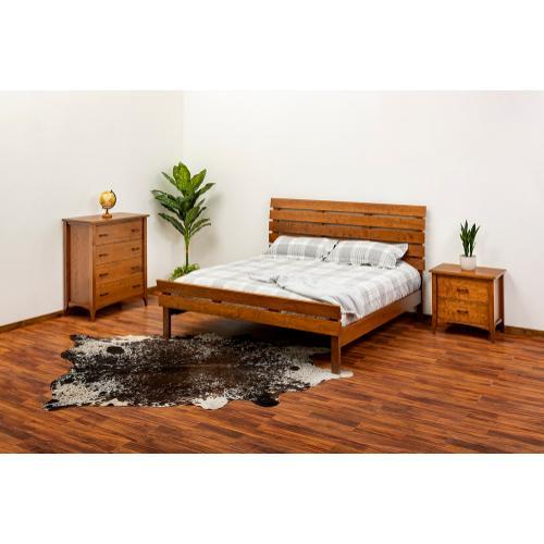 Green Gables Furniture - Malibu Bed-provincial - California King Bed