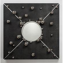 """Wall D cor with mirror 47x7""""x47"""""""