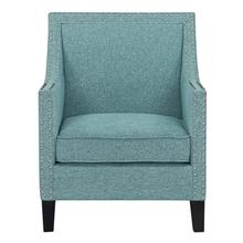 Hailey Accent Chair, Aqua