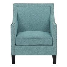 See Details - Hailey Accent Chair, Aqua