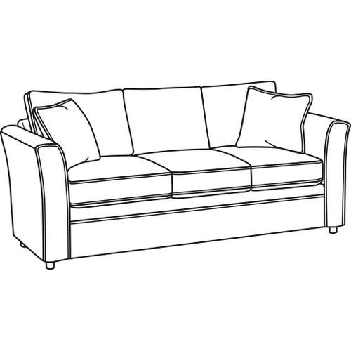 Braxton Culler Inc - Northfield 3 over 3 Sofa