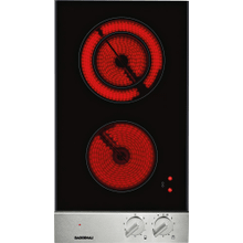 200 series Vario 200 series electric cooktop Stainless steel control panel Width 12 ''