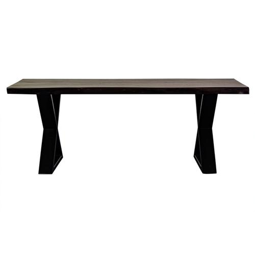 Porter International Designs - Manzanita Midnight Coffee Table with Different Bases, VCS-CT48M