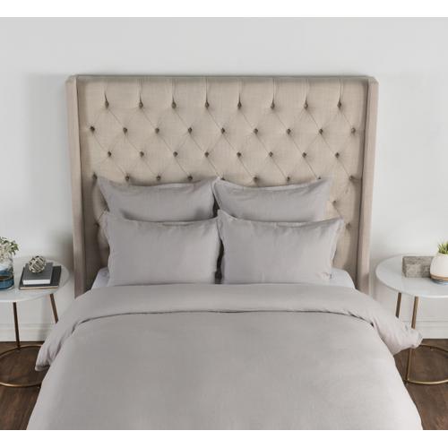 Classic Home - Arcadia Dove Gray 3Pc King Duvet Set