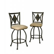"CR-Y2091  24"" Swivel Stool"