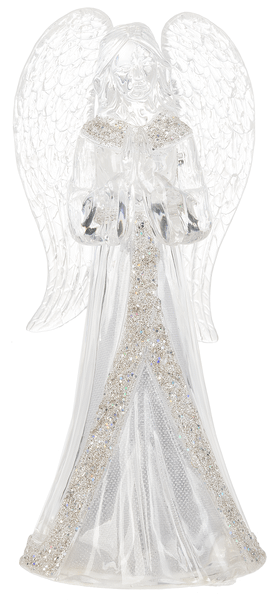 Light Up Glitter Angel