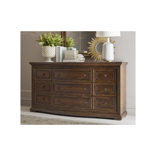 Kingsport 9 Drawer Dresser