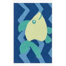 View Product - Han09 Blue / Yellow Rug