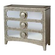 Carlton 3-drawer Chest With Mirrored Drawer Fronts Product Image