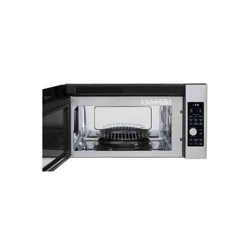 LG Studio - LG STUDIO 1.7 cu. ft. Over-the-Range Convection Microwave Oven