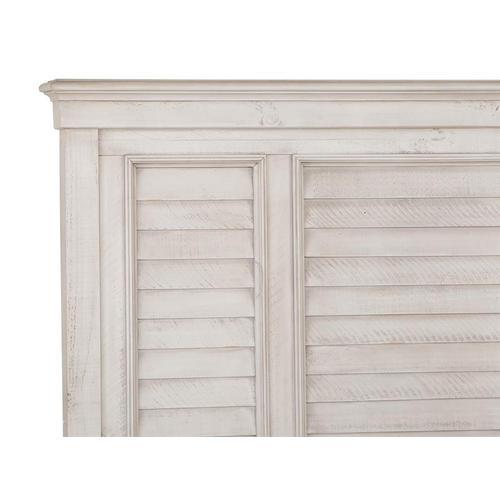 Magnussen Home - Complete Queen Shutter Panel Bed