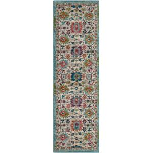 "Meraki Sublime Multi 2' 4""x7' 10"" Runner"
