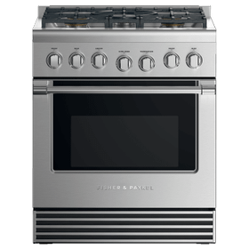"Gas Range, 30"", 5 Burners"