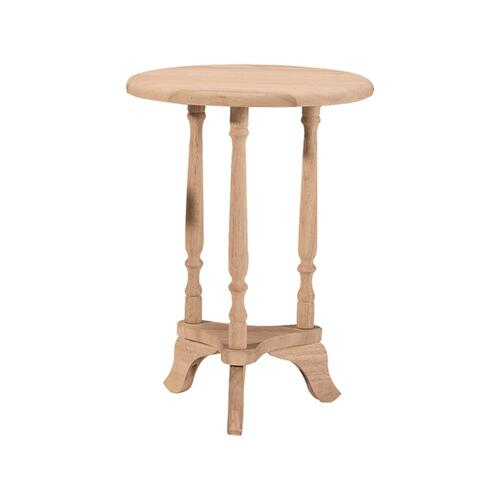 Whitewood Industries - Unfinished Round Plant Table