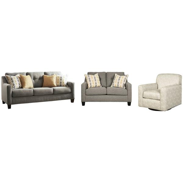 See Details - Sofa, Loveseat and Chair