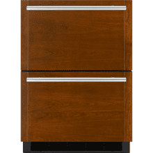 "24"" Double-Refrigerator Drawers, Panel Ready"