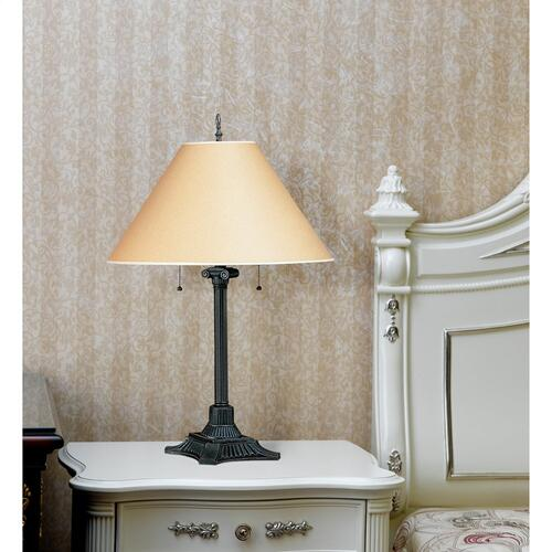 60W X 2 Pull Chain Table Lamp