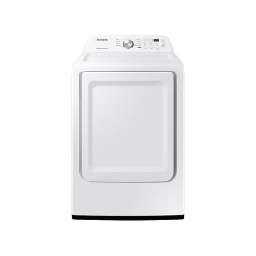 7.2 cu. ft. Electric Dryer with Sensor Dry in White