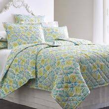 Painted Medallions Quilt & Shams, LAKE, KING