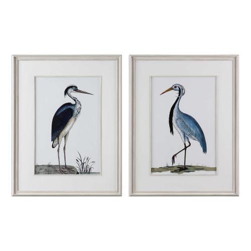 Product Image - Shore Birds Framed Prints, S/2