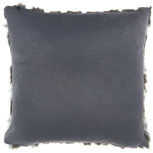 "Inspire Me! Home Decor Vv560 Charcoal 20"" X 20"" Throw Pillow"