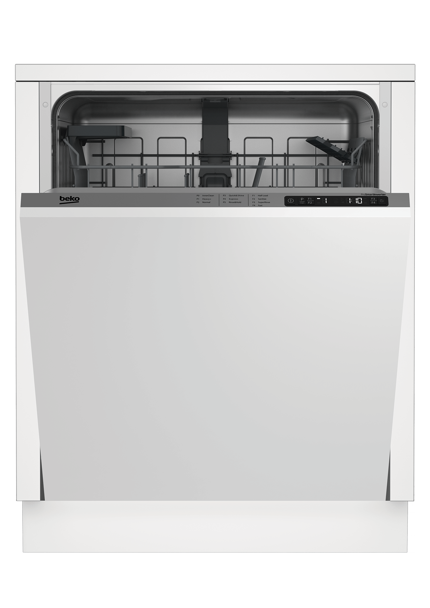 Full Size Dishwasher, 14 place settings, 48 dBa, Fully Integrated Panel Ready