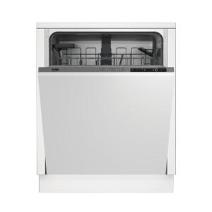 BekoFull Size Dishwasher, 14 place settings, 48 dBa, Fully Integrated Panel Ready