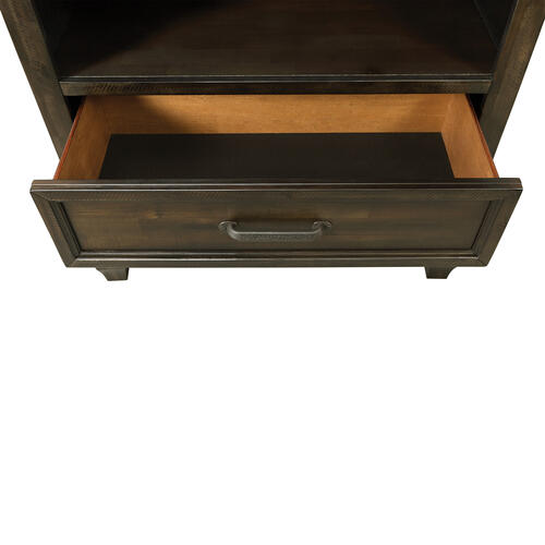 McCabe 2-Drawer Media Chest with Media Compartment