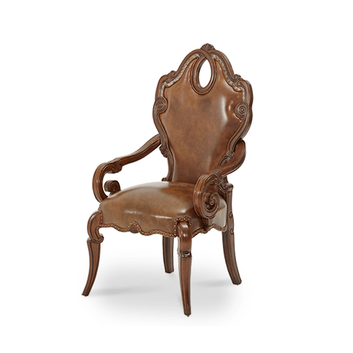 Arm Chair - Leather Seat