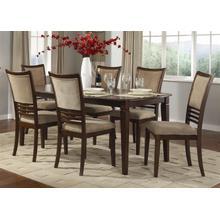 View Product - 7 Piece Rectangular Table Set