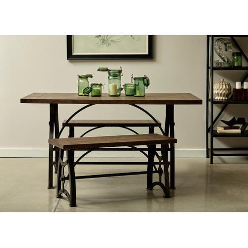 Product Image - Rosebank Wood & Metal Dining Bench
